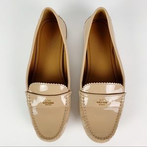 Coach Odette Patent Leather Loafer 10B